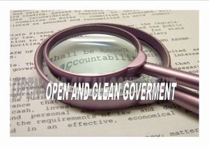 open-and-clean-government